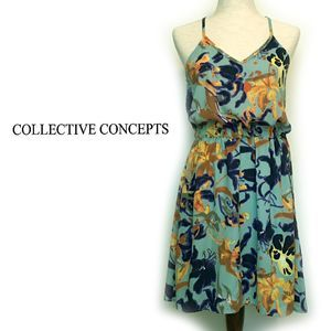 NWT Collective Concepts Floral Sundress Sz XS